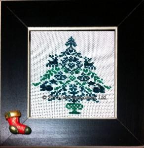 Christmas motif tree