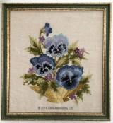 Bowl of Pansies, Elsa Williams