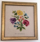 Crewel Flowers