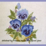 Bowl of Pansies, Elsa Williams Design