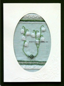 Card, Lily of the Valley
