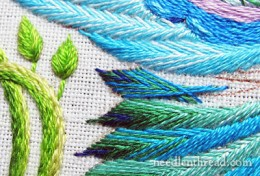 Feather Stitching