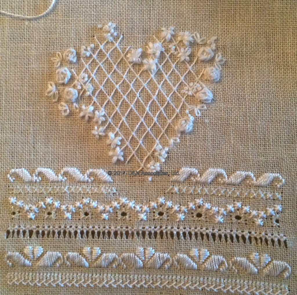 Heirloom Wedding Sampler, Victoria Sampler