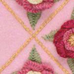 Issue 78 Interlaced chain stitch