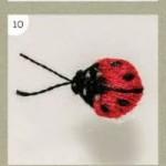 Stitch ladybug