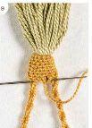 Stitch tassel