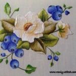 Trish Burr blueberries