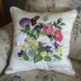 Nantucket Wildflowers Pillow