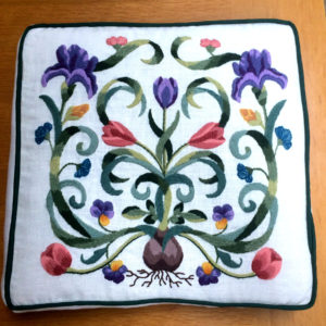 Mayflower pillow