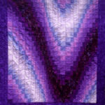 purple bargello quilt
