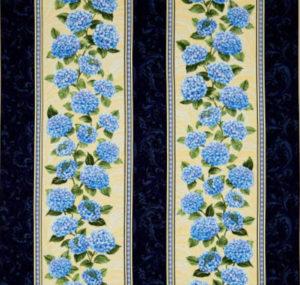 hydrangea fabric