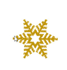 Embroidery Design Snowflake