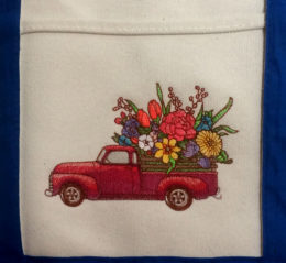 retro flower truck feature photo