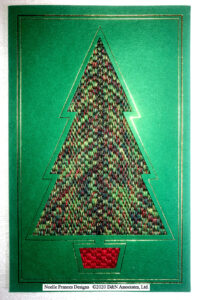 Bargello Christmas Tree 2020 cp